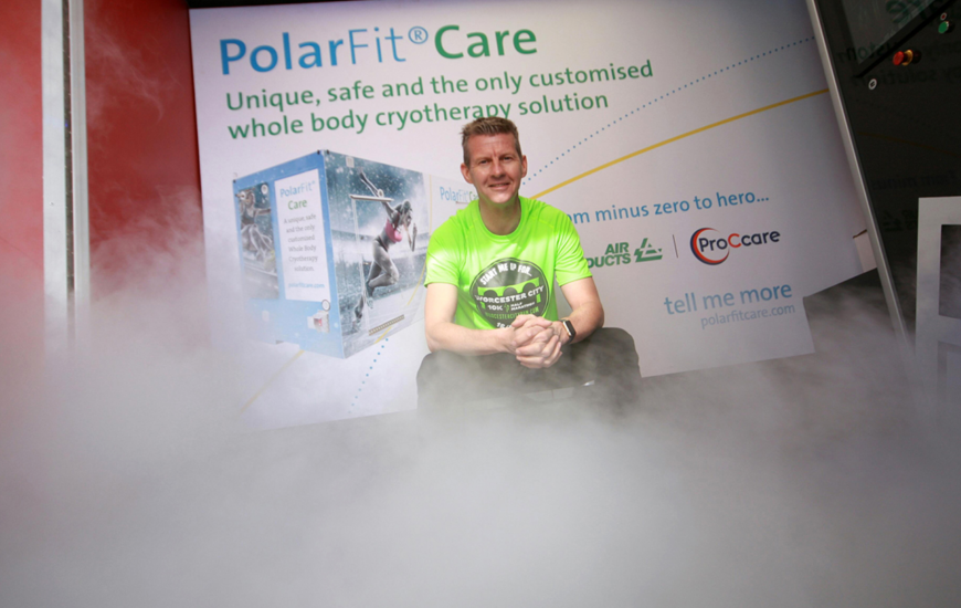 Cryotherapy cure starts the road to the Worcester City Run