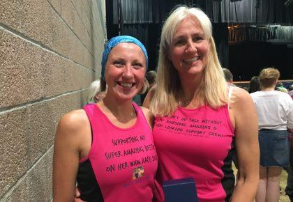 Runner tackles marathon to dispel myths