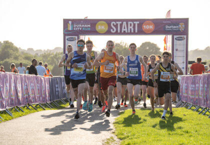 RACING RETURNS TO THE HEART OF DURHAM WITH 10K AND 5K RACES UNDER THE SUN